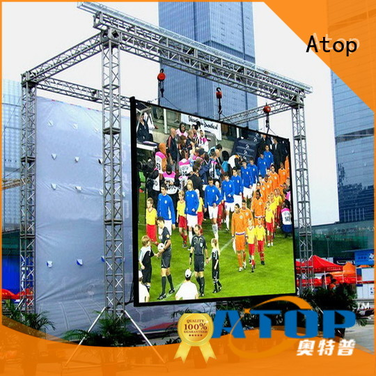 Atop affordable led video wall panels with relaible quality in market、