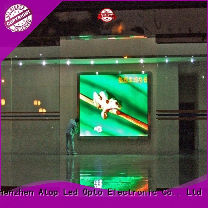 Atop full hd led display with relaible quality in market