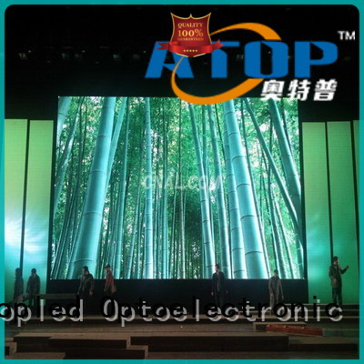 Atop wall video wall with high-quality for your led display applications