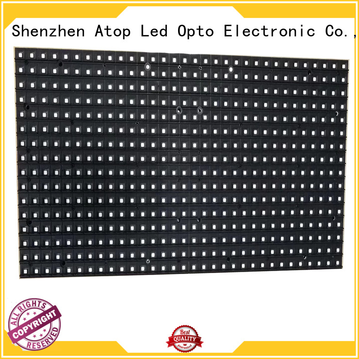 Atop high quality round led module for indoor rental led display