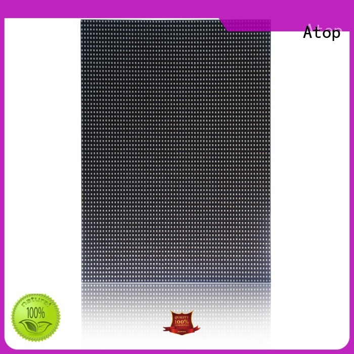 Atop online outdoor led module to meet different need for indoor rental led display