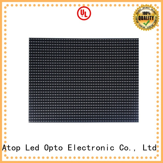 Atop size p6 led module to meet different need for indoor rental led display