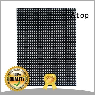 Atop led led display module with relaible quality for advertising