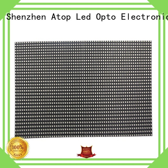 Atop panel mini led module with relaible quality for advertising