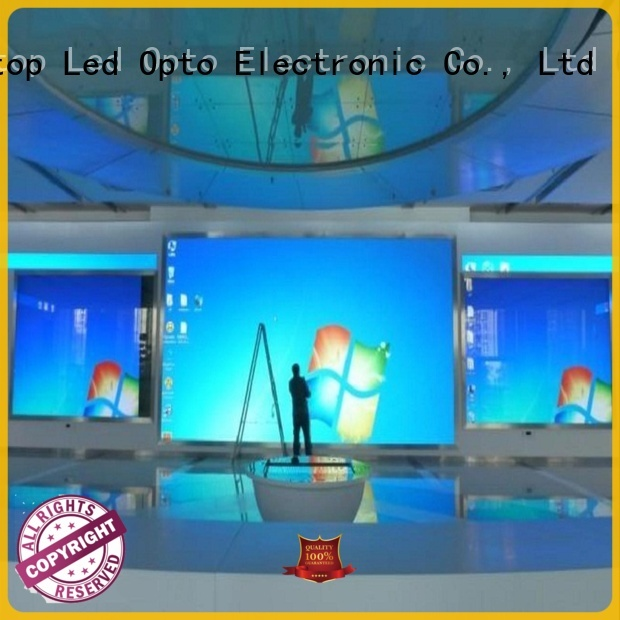 Atop wall indoor led screen with relaible quality for indoor led display