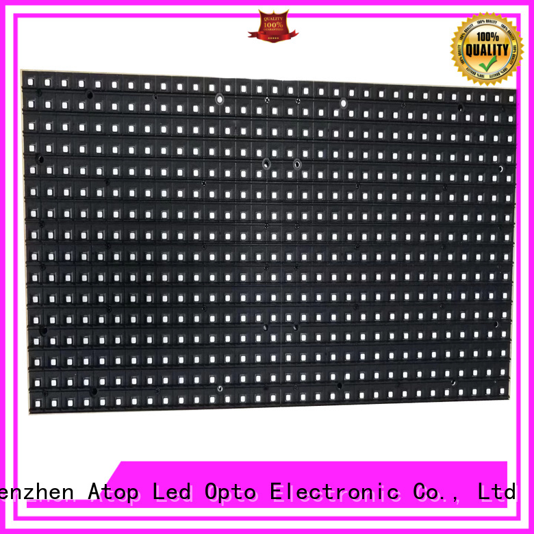 Atop customized 12v led module to meet different need for indoor rental led display