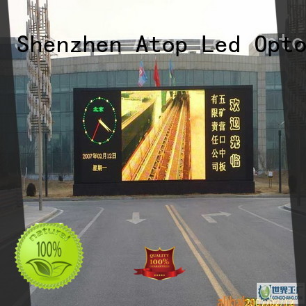 display commercial led display outdoor in market、 Atop