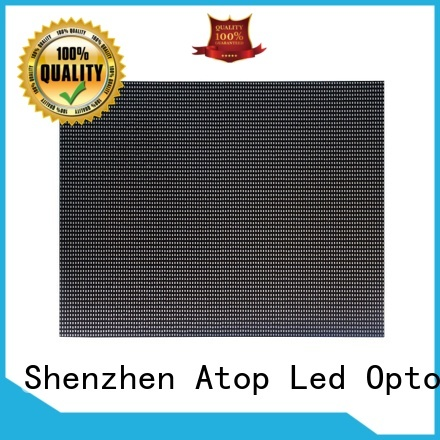 high quality round led module for indoor rental led display Atop