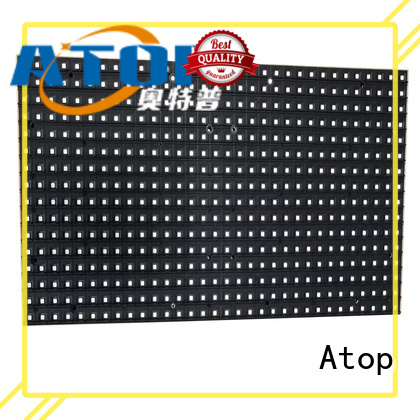 customized waterproof led module size with relaible quality for indoor rental led display