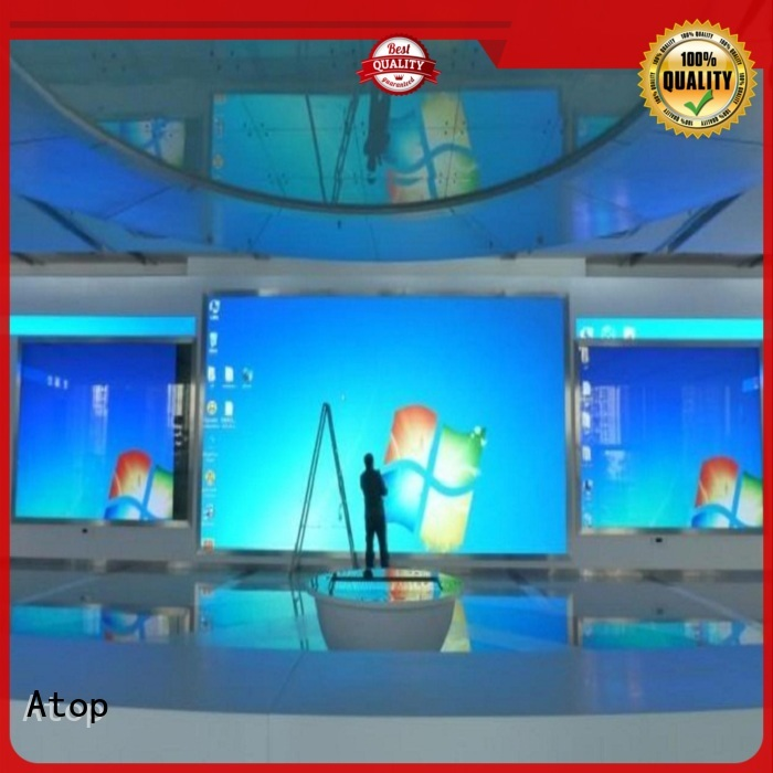 automatically indoor fixed led display indoor with the stringent quality standards for advertising