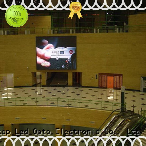 Atop priced-low indoor led display screen easy assembling for LED screen