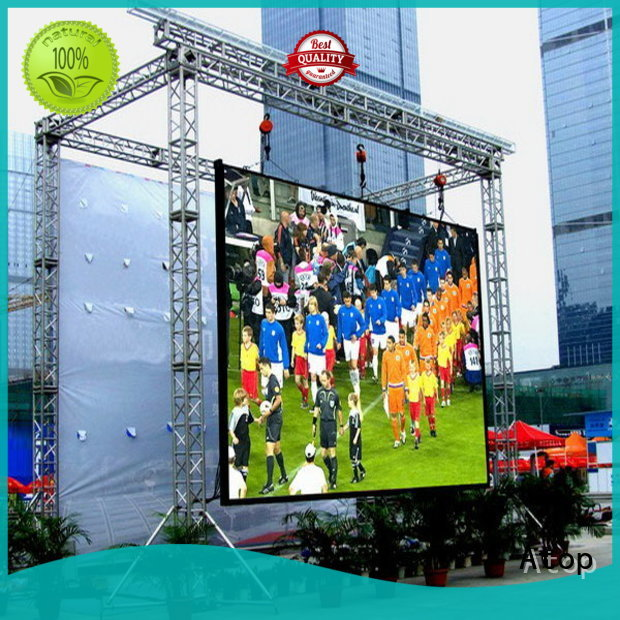 Atop display outdoor led video wall to meet different need for both outdoor and indoor
