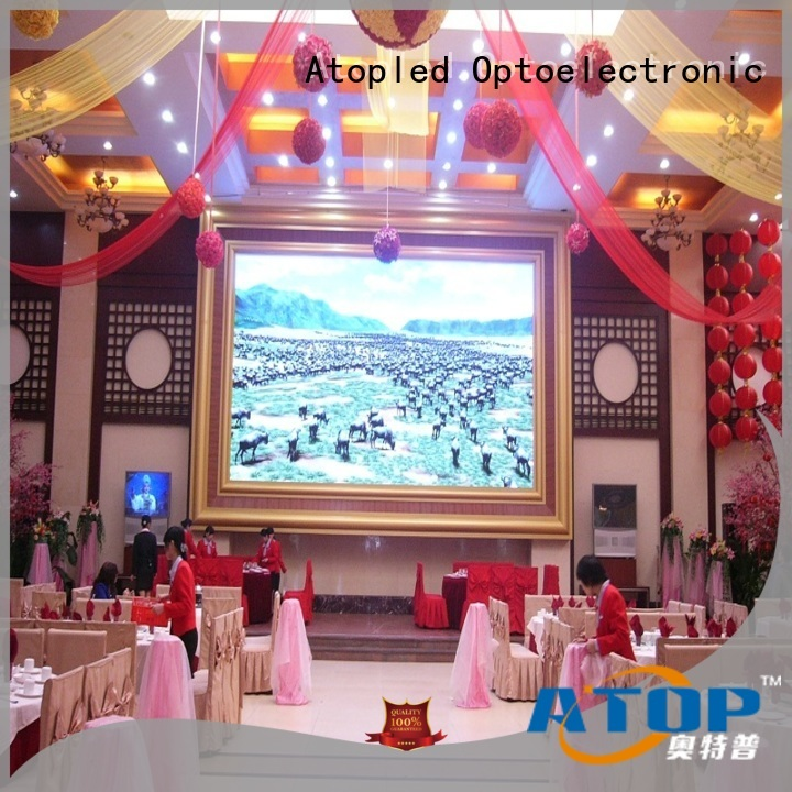 Atop sale indoor led billboard with best color uniformity in market