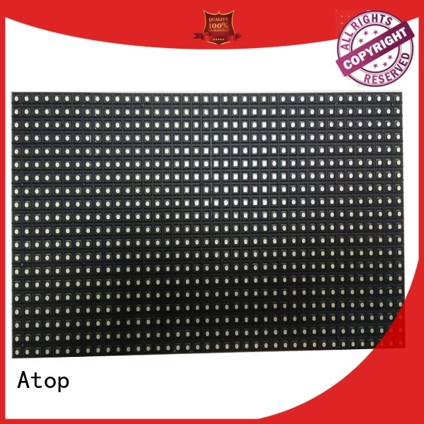 Atop panel led module price for advertising