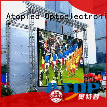 Atop online p10 led module to meet different need in market、
