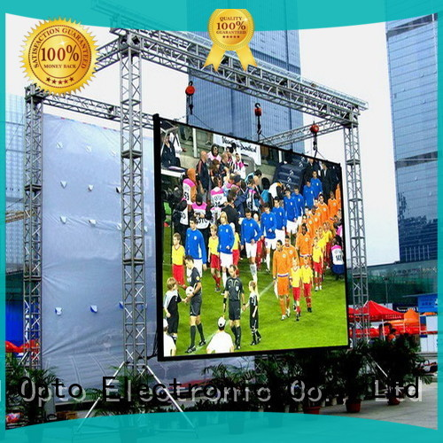 Atop led outdoor fixed led display for advertising