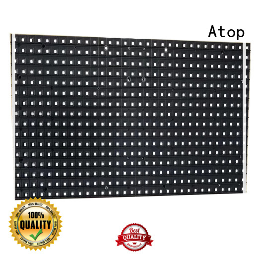 customized full color led module full for indoor rental led display Atop