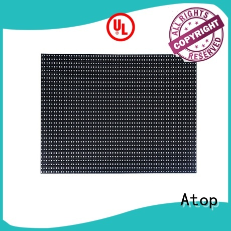 Atop high quality led module easy operation for advertising