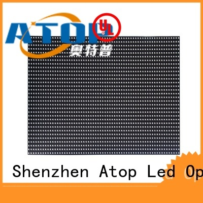 Atop high quality led display module with relaible quality for advertising