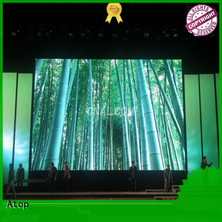Atop excellent led rental display in strict accordance with relevant national standards for LED screen