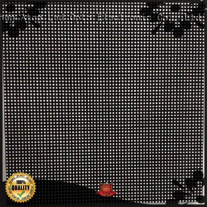 Atop color led module to meet different need for indoor rental led display