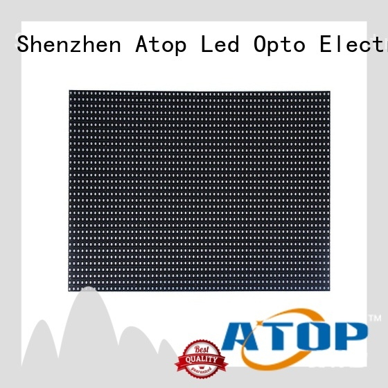 Atop high quality rgb led module for advertising