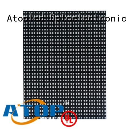 Atop customized full color led module in market