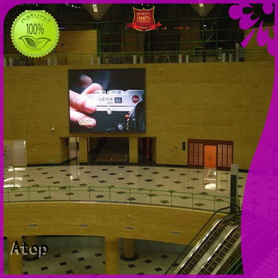 Atop led indoor led display screen in strict accordance with relevant national standards for indoor rental led display