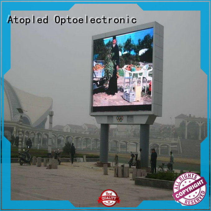 Atop waterproof outdoor led video wall with relaible quality for advertising