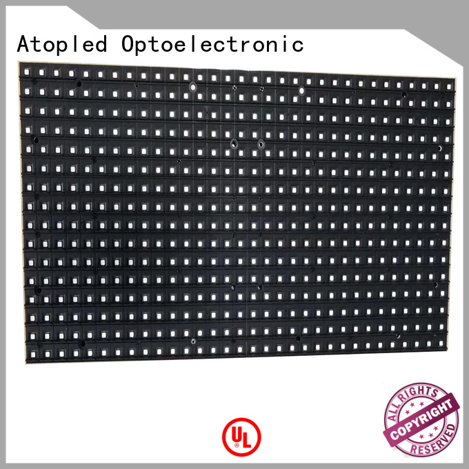 Atop display led modules for signs with relaible quality for indoor rental led display