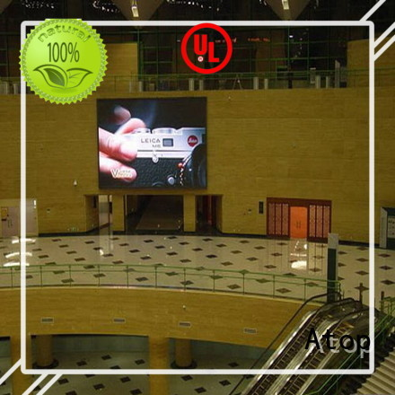Atop priced-low video wall rental with high-quality for LED screen