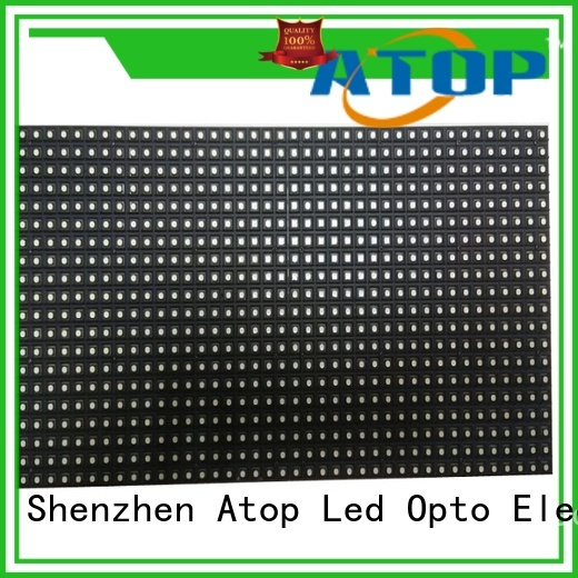 high quality rgb led module screen easy operation for indoor rental led display
