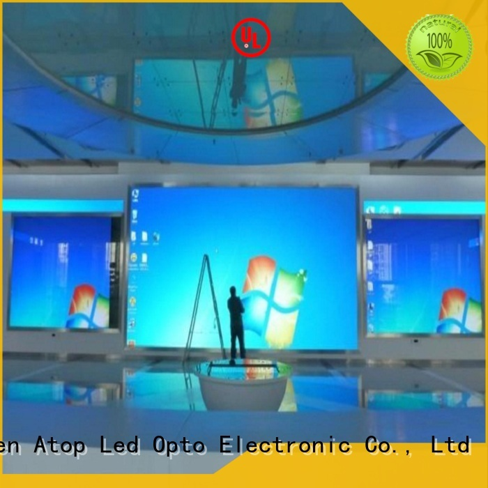 video wall display color with best color uniformity for advertising