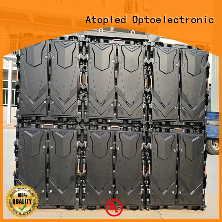 Atop installation outdoor led display screen price with relaible quality for display