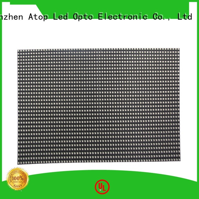 Atop customized led display module easy operation for advertising