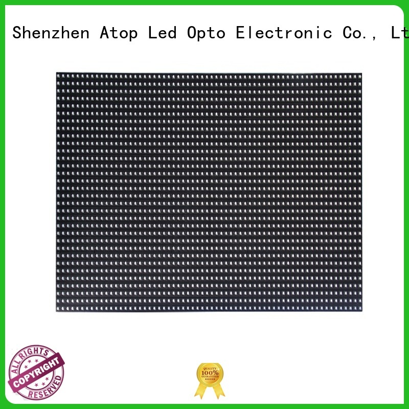 Atop high quality mini led module signs for indoor rental led display