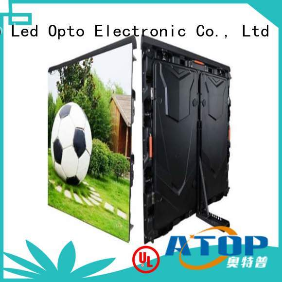 easily football stadium advertising boards with high precision for sport stadium
