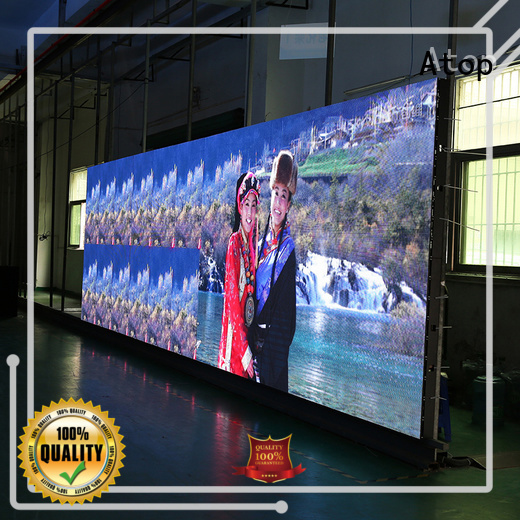 Atop brightness full hd led screen​ easy assembling