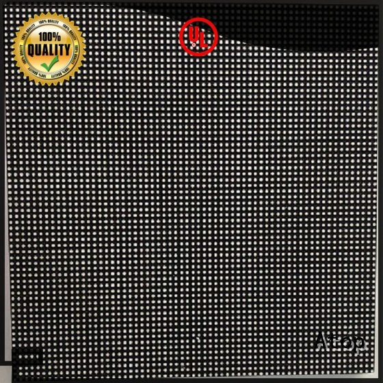 Atop size outdoor led module to meet different need in market