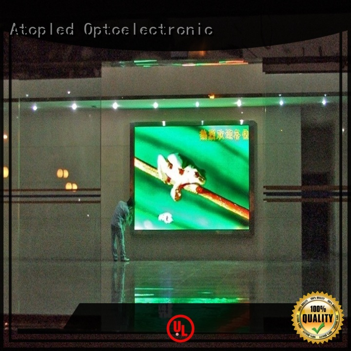Atop customized advertising led panel with reliable driving IC for indoor led display