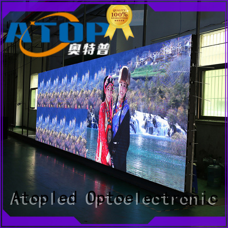 Atop priced-low indoor led display screen with high-quality for indoor rental led display