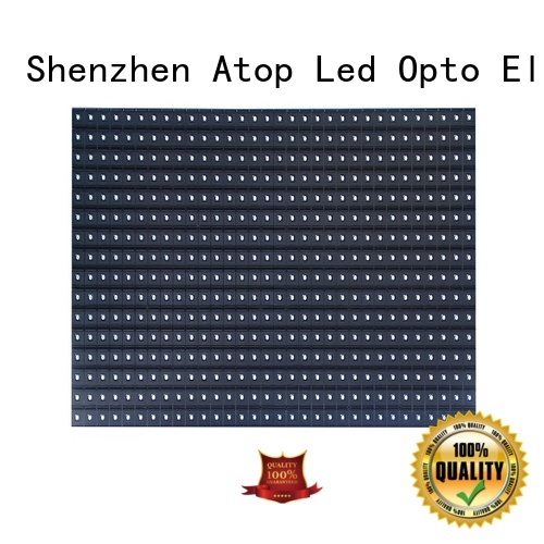online led display module full to meet different need for indoor rental led display