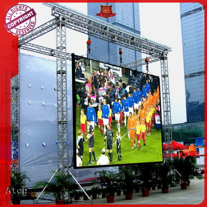 reasonable outdoor led sign installation on sale in market、