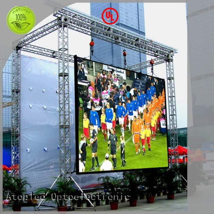 Atop screen led video wall panels to meet different need for display