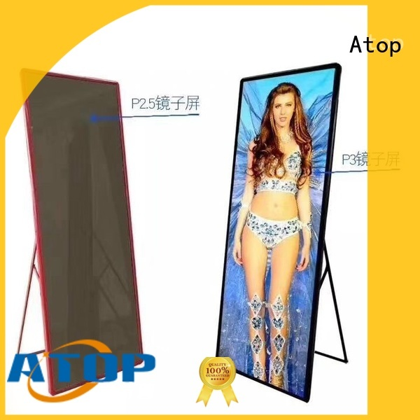 advanced flexible led display curtain on sale for shopping mall