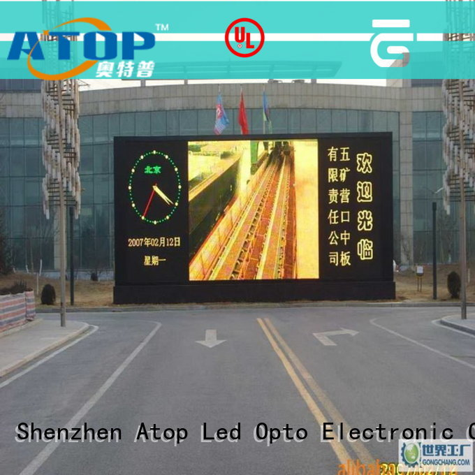 affordable led videowall outdoor to meet different need for advertising