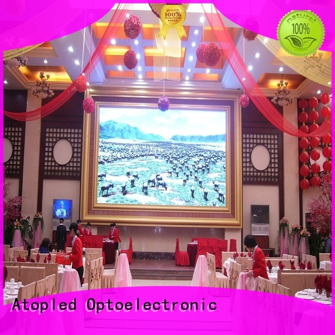 Atop sale screen led with the stringent quality standards for advertising