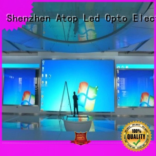 Atop favorable indoor led billboard with the stringent quality standards in market