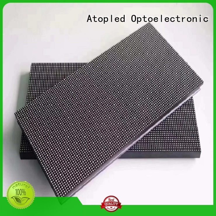 Atop quality p6 led module with relaible quality in market