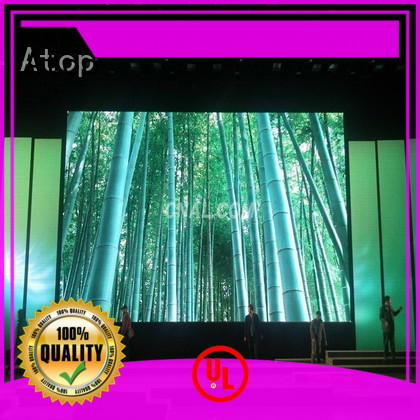 Atop cost-effective led video wall with high-quality for LED screen